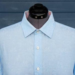 Bugatchi Men's Luxury Button Down Shirt  👔